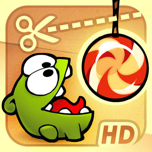 Cut the Rope iPad Front Cover