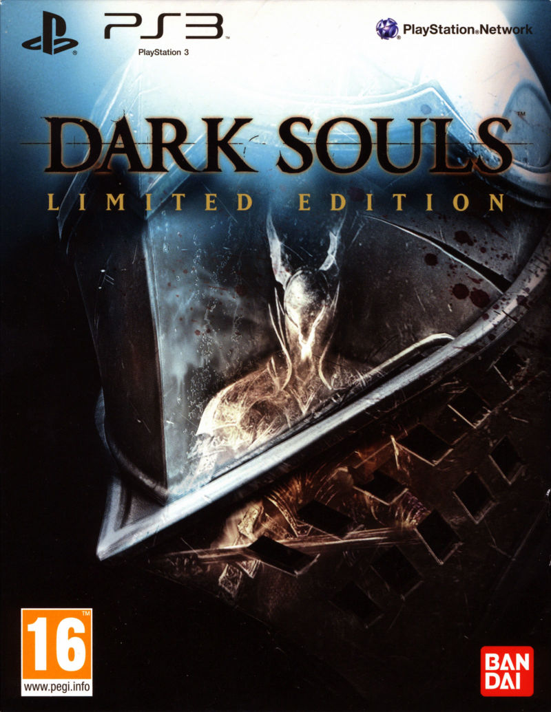 dark souls limited edition 2011 playstation 3 box