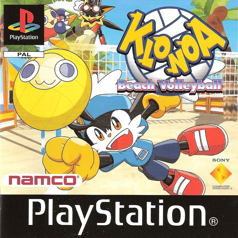 Klonoa Beach Volleyball PlayStation Front Cover