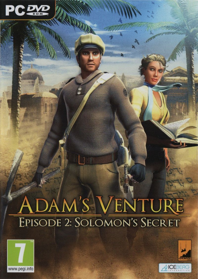 Adam's Venture: Episode 2 - Solomon's Secret Windows Front Cover