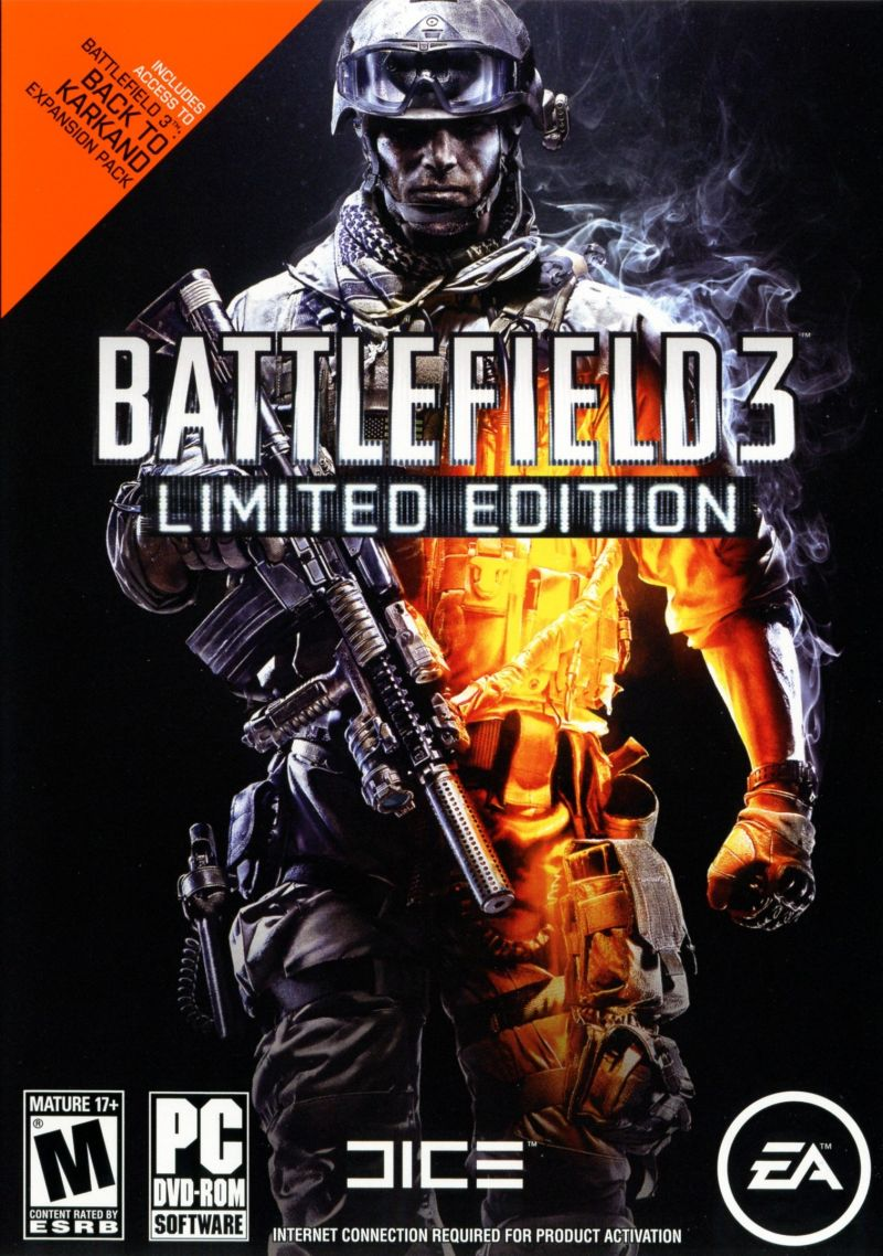 Battlefield 3 (Limited Edition) Windows Front Cover