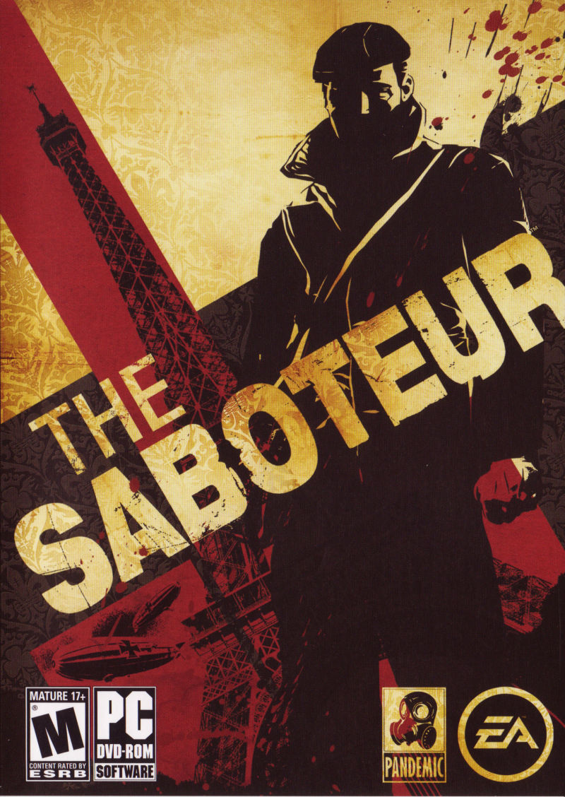 The Saboteur Windows Front Cover
