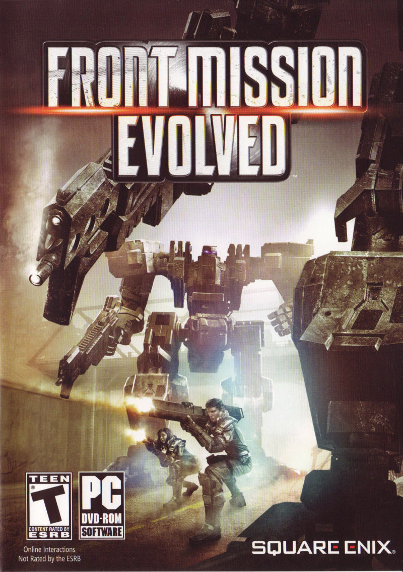 Front Mission Evolved Windows Front Cover