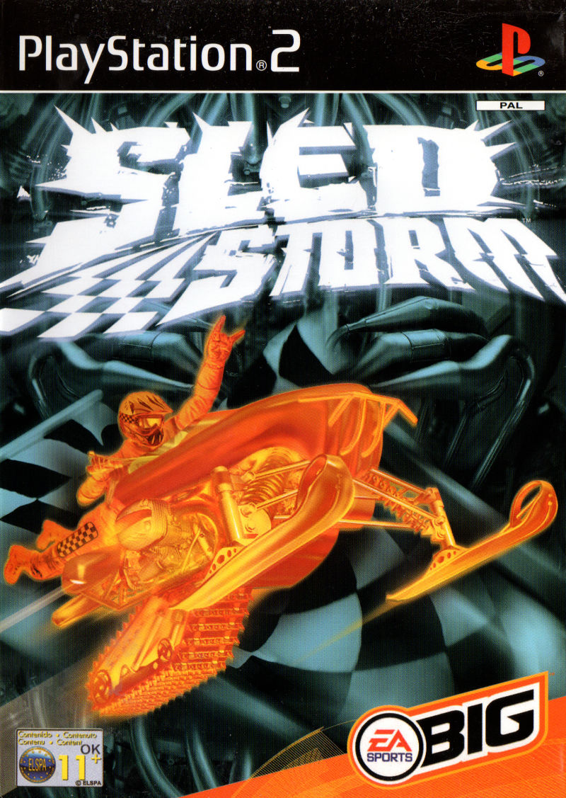 Sled Storm PlayStation 2 Front Cover
