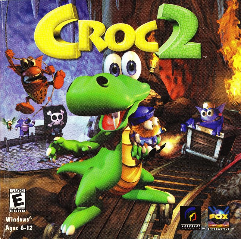 Croc 2 Windows Front Cover