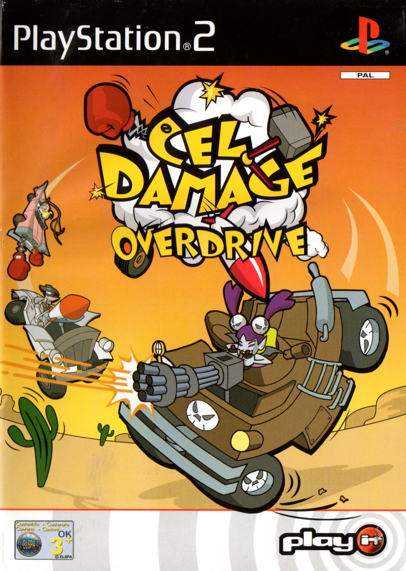 Cel Damage PlayStation 2 Front Cover