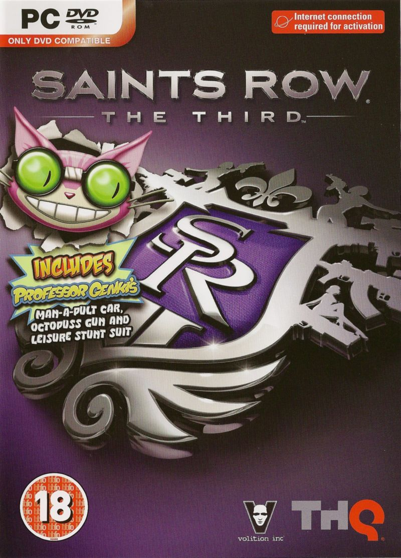 Saints Row: The Third Windows Front Cover