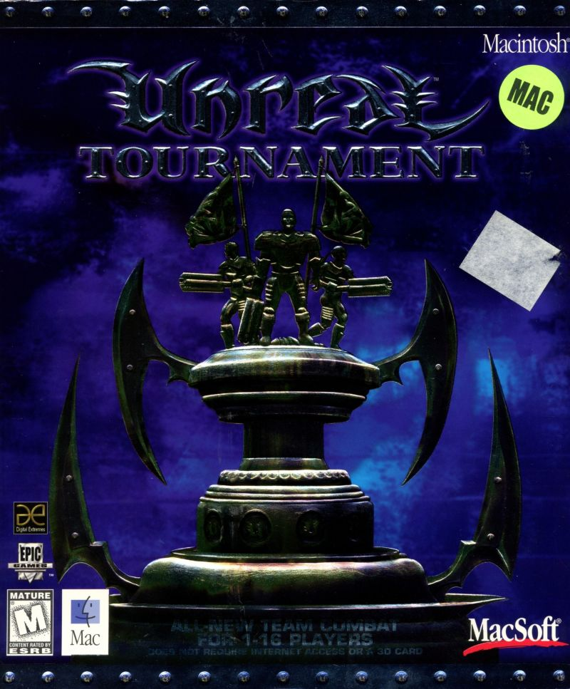 Unreal Tournament Macintosh Front Cover