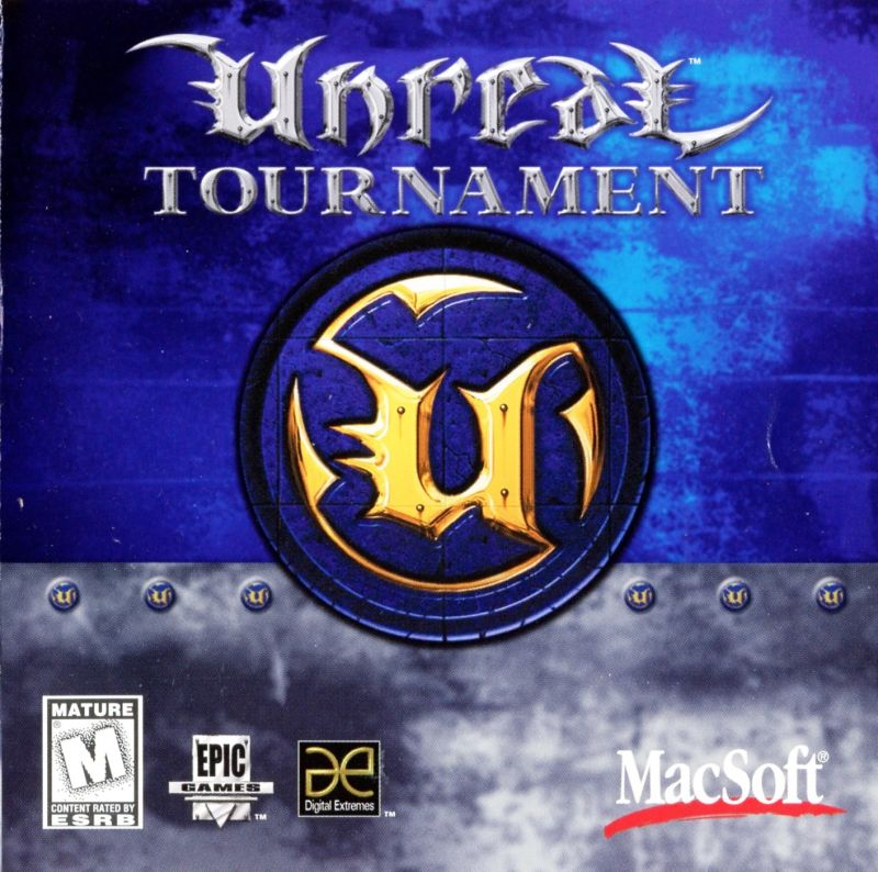Unreal Tournament Macintosh Other Jewel Case Front