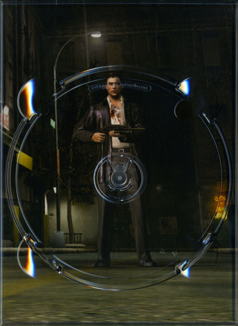 Max Payne 2: The Fall of Max Payne Windows Other Slipcase - Inside Right (Holds Install Disc 2)