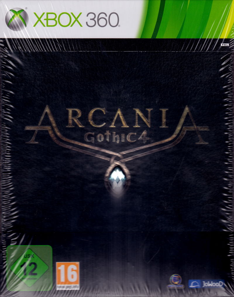 ArcaniA: Gothic 4 (Collector's Edition) Xbox 360 Front Cover