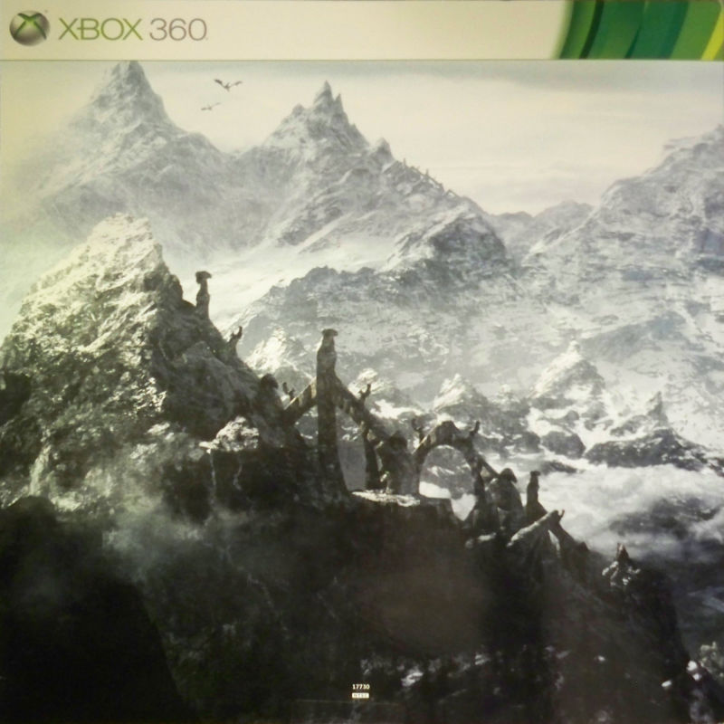 The Elder Scrolls V: Skyrim (Collector's Edition) Xbox 360 Other Left side of panoramic image