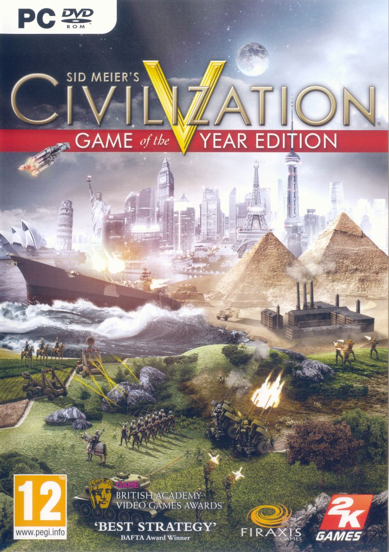 Sid Meier's Civilization V: Game of the Year Edition Windows Other Keep Case - Front