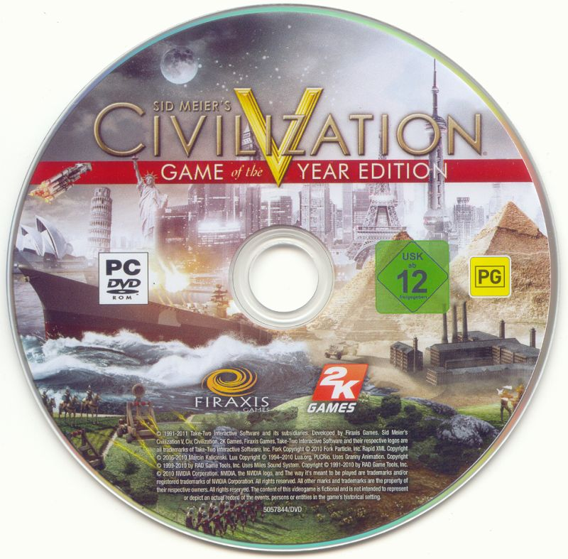 Sid Meier's Civilization V: Game of the Year Edition Windows Media