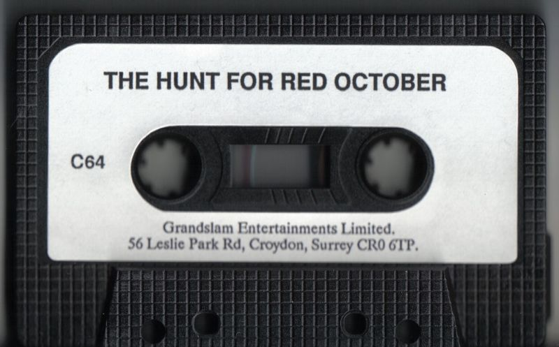 The Hunt for Red October Commodore 64 Media