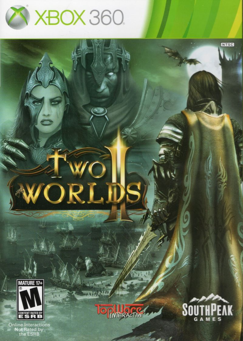 Two Worlds II Xbox 360 Front Cover
