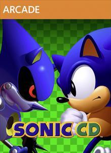 Sonic CD Xbox 360 Front Cover