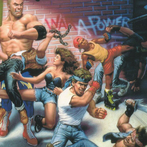 Streets of Rage 2 iPhone Front Cover