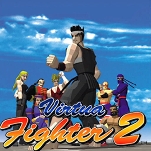 Virtua Fighter 2 iPhone Front Cover
