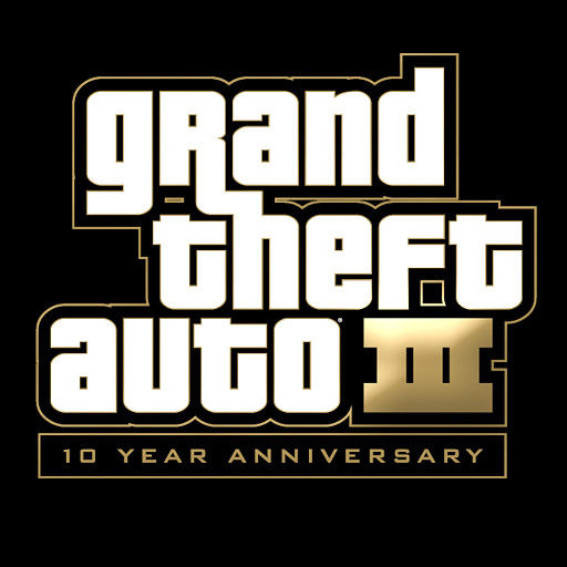 Grand Theft Auto III iPad Front Cover