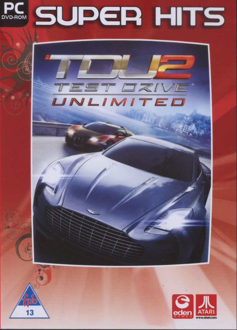 Test Drive Unlimited 2 Windows Front Cover