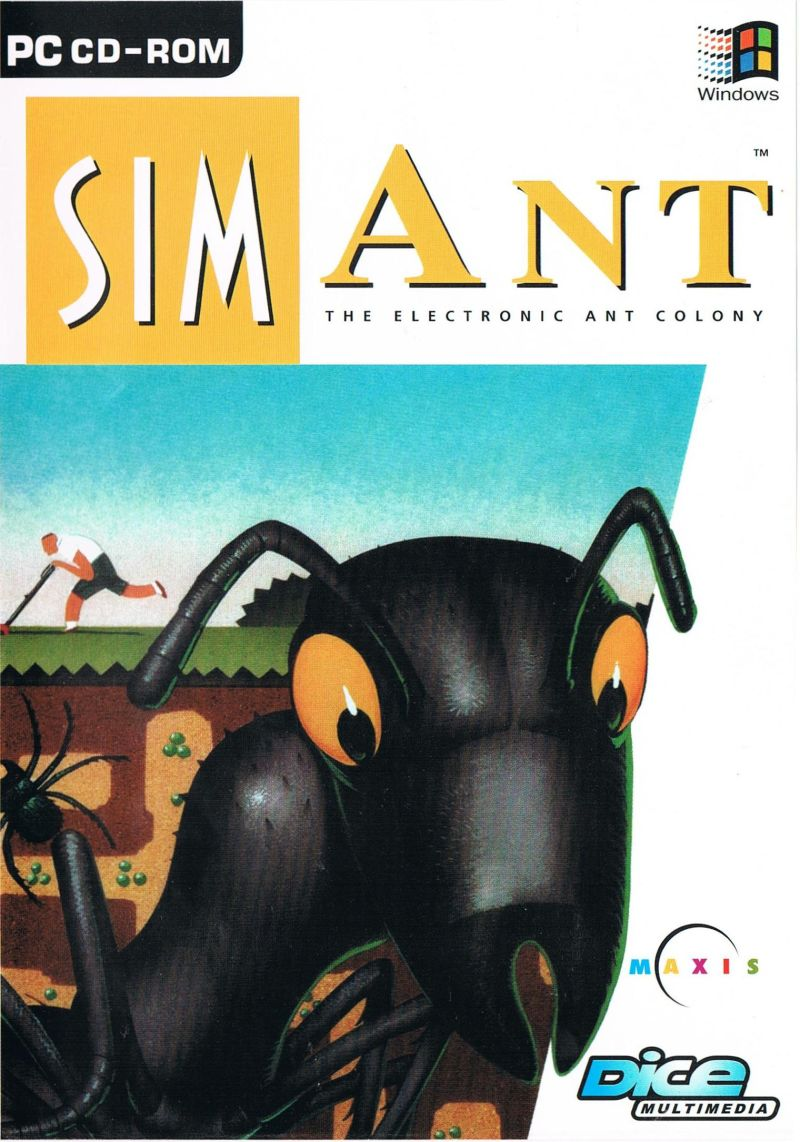SimAnt: The Electronic Ant Colony Windows 3.x Front Cover