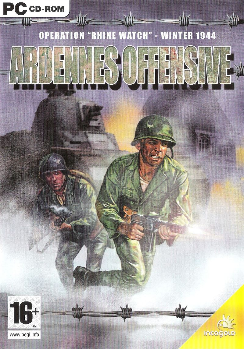 Ardennes Offensive Windows Front Cover