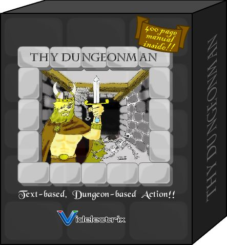 Thy Dungeonman Browser Front Cover