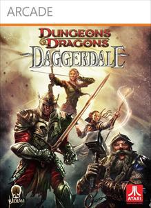 Dungeons & Dragons: Daggerdale  Xbox 360 Front Cover