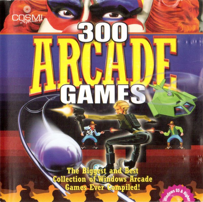 300 Arcade Games Windows Front Cover