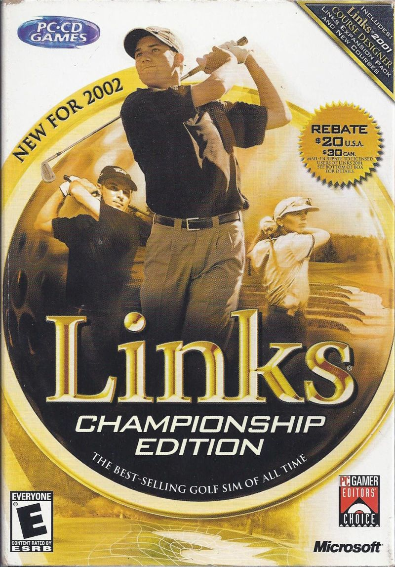 Links Championship Edition Windows Front Cover