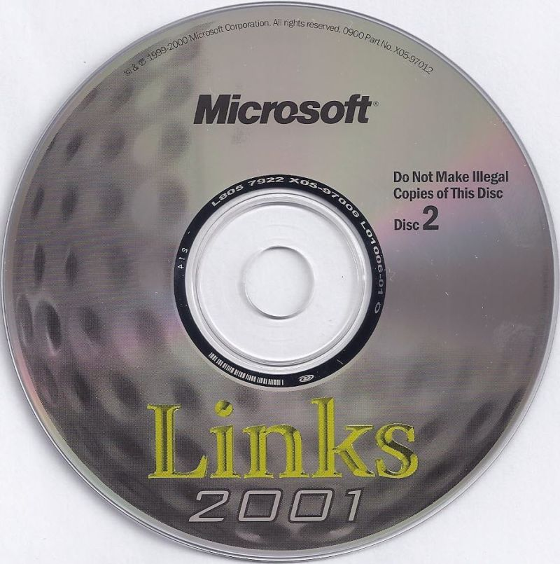 Links 2001 Windows Media Disc 2