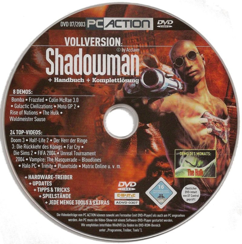 Shadow Man Windows Media