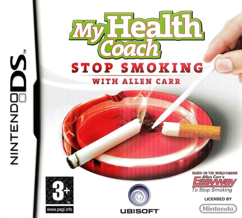 My Stop Smoking Coach: Allen Carr's EasyWay Nintendo DS Front Cover