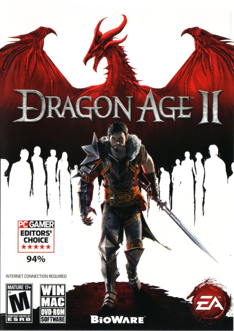 Dragon Age II Macintosh Front Cover