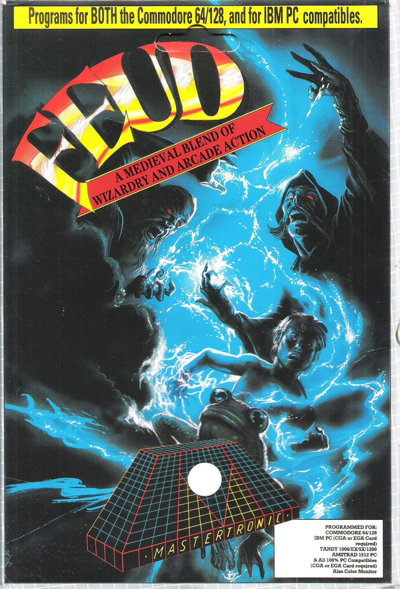 Feud Commodore 64 Front Cover