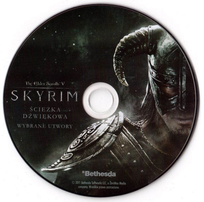 The Elder Scrolls V: Skyrim Windows Media Soundtrack CD