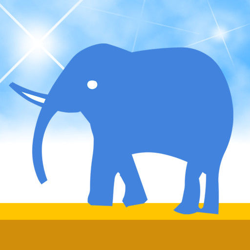 Elephant Rave iPhone Front Cover