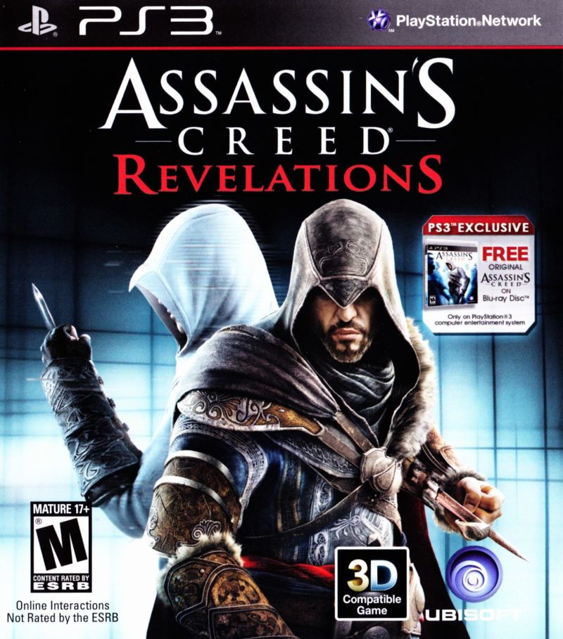 Assassin's Creed: Revelations PlayStation 3 Front Cover