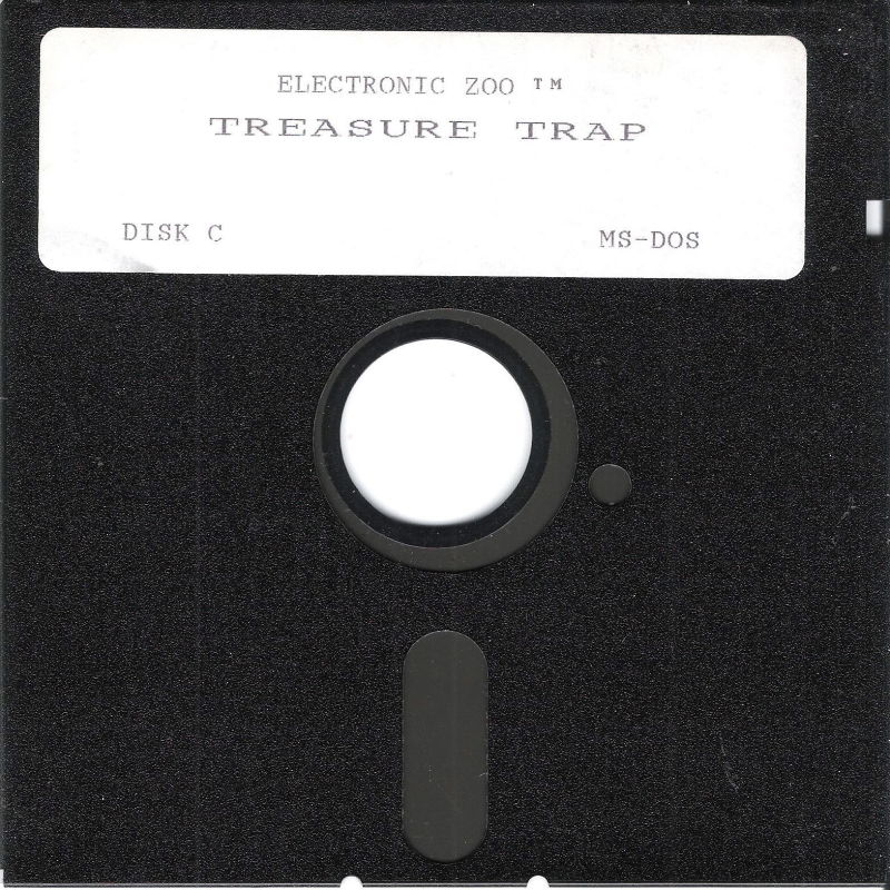 Treasure Trap DOS Media Disk (3/3)