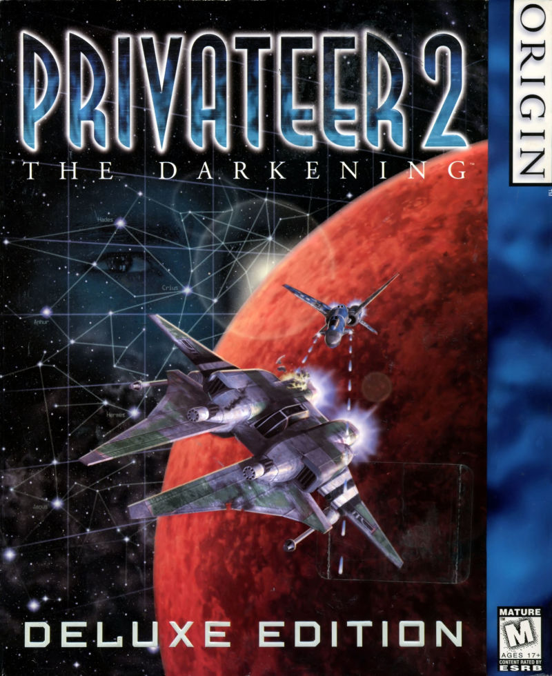 Privateer 2: The Darkening Windows Front Cover