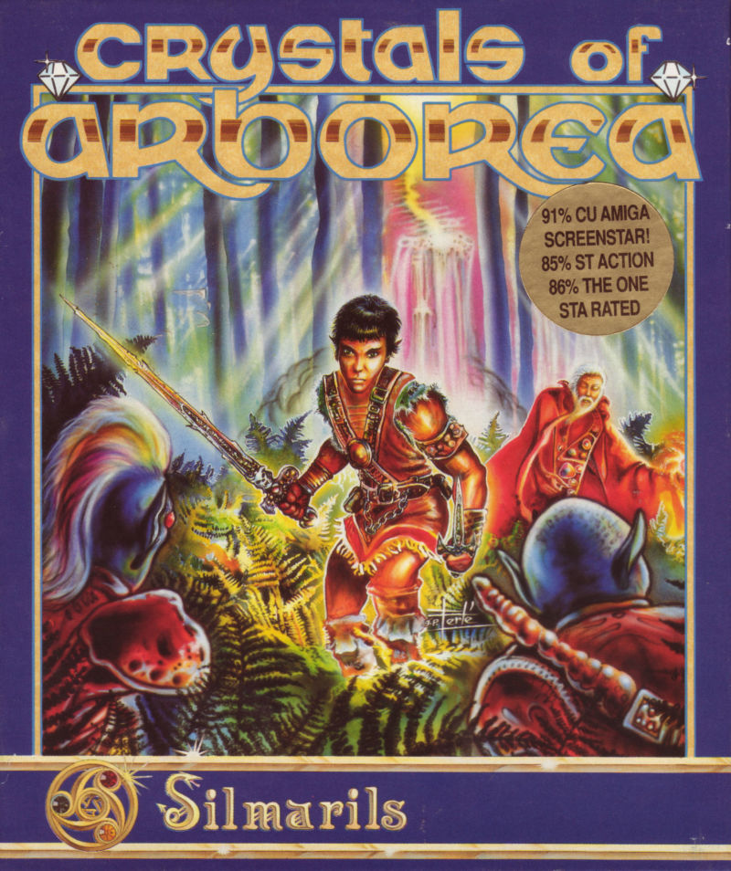 Crystals of Arborea Amiga Front Cover