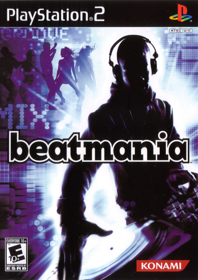 beatmania PlayStation 2 Front Cover