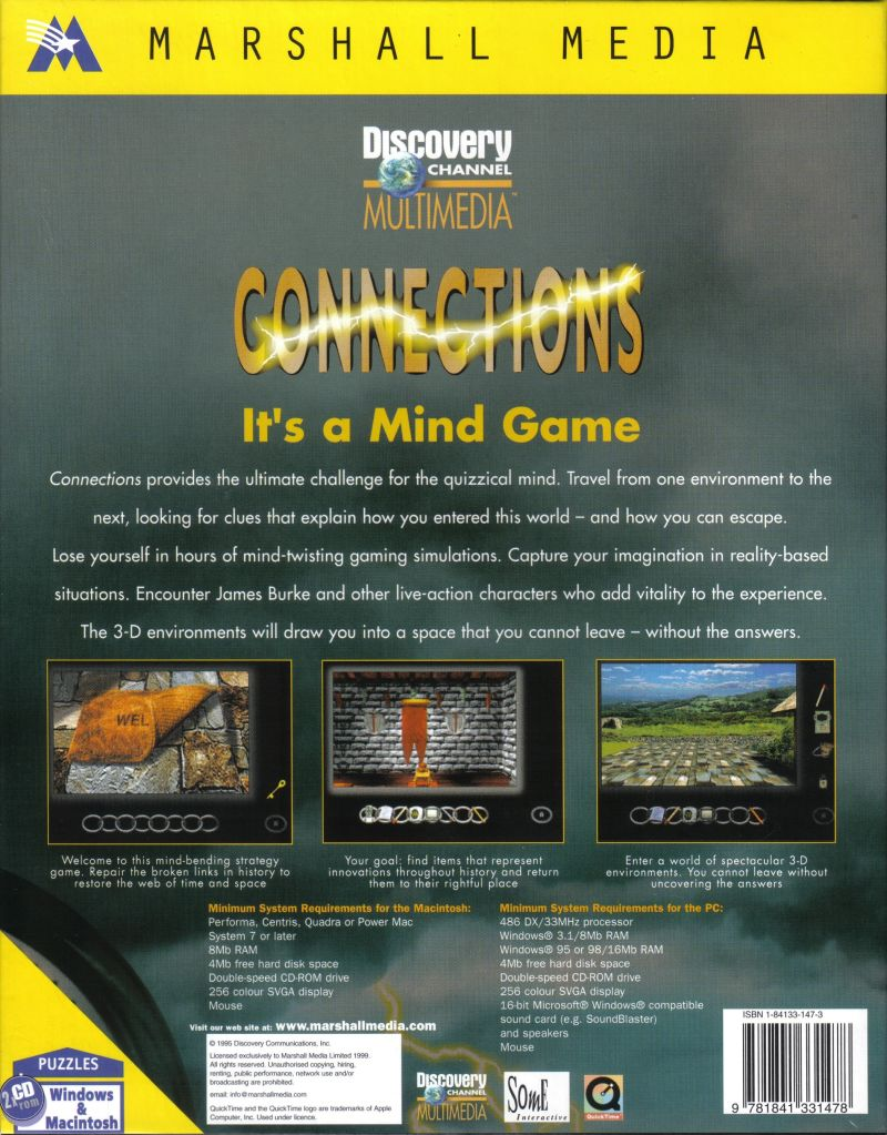 Connections Macintosh Back Cover