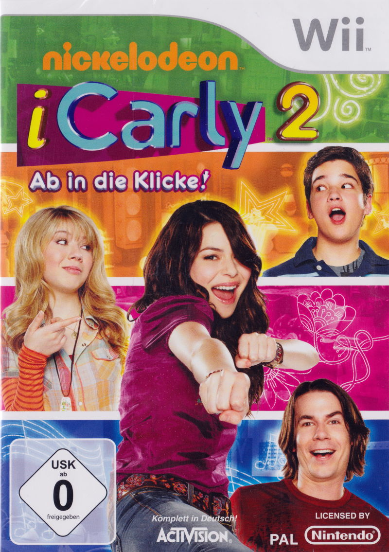 iCarly 2: iJoin the Click! Wii Front Cover