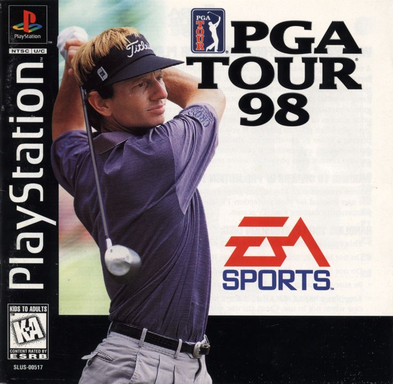 PGA Tour 98 PlayStation Front Cover