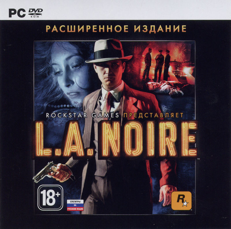 L.A. Noire: The Complete Edition Windows Other Jewel Case Front