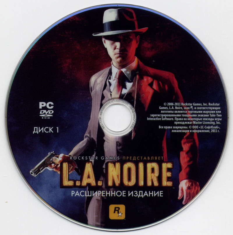 L.A. Noire: The Complete Edition Windows Media Disc 1/2