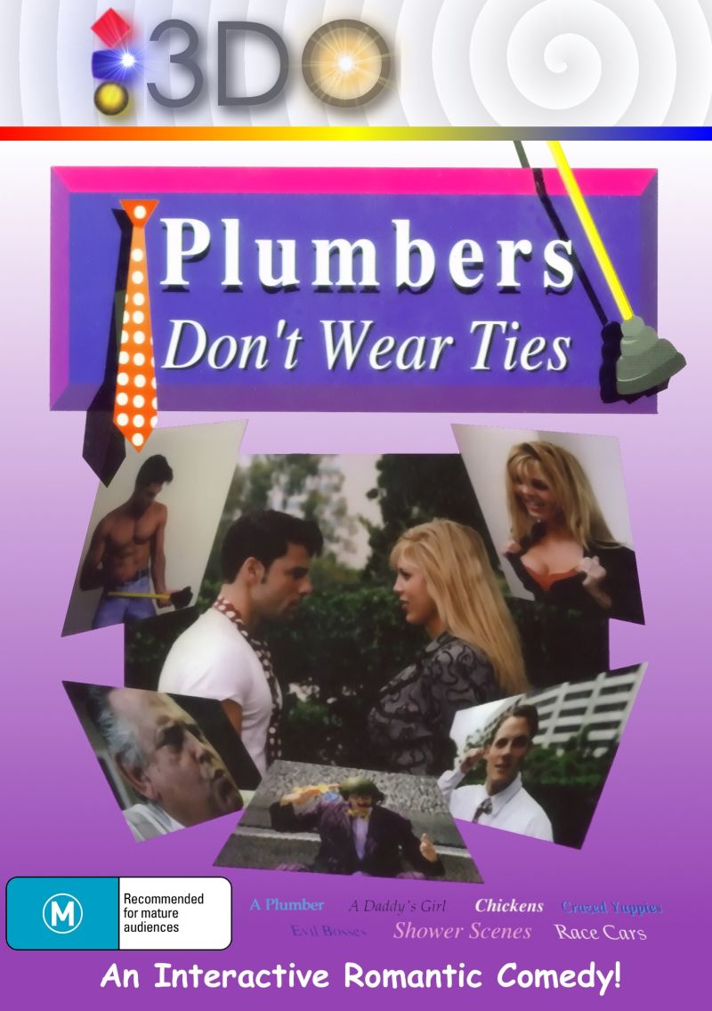Plumbers Don't Wear Ties 3DO Front Cover