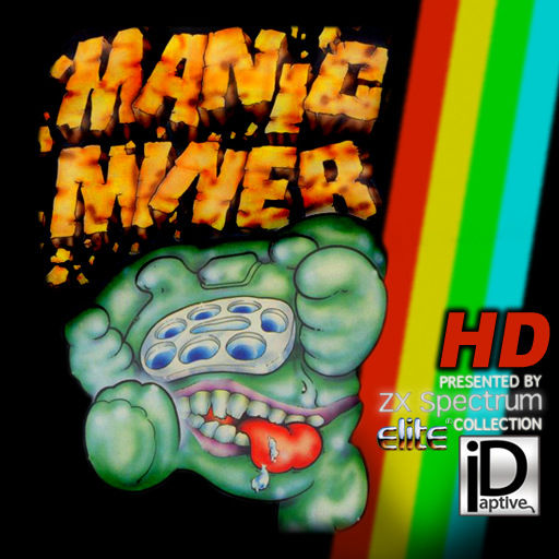 Manic Miner iPad Front Cover
